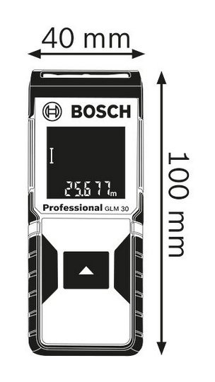 may do khoang cach bosch glm 30 1